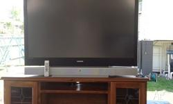 Samsung rear projector television 60 inch with 2