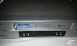 Samsung VHS player + Remote. $30 Samsung Video player +