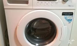 Hi there, I'm selling off my Samsung Washing machine