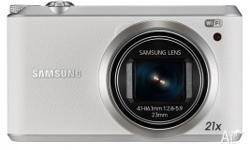 Samsung - WB350F White - 16.3MP Smart Camera - BRAND
