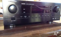 SANSUI AV DIGITAL SURROUND RECEIVER WITH REMOTE In