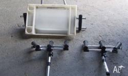 Sant Marine Baitboard with 2 rod holders also 3 way rod