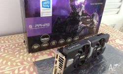 Sapphire Dual X R9 280X OC Video Card 3gb Vram Great