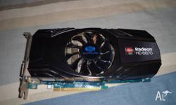 Selling a HD6870 non-reference cooled by sapphire. Card
