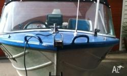 Savage Tinny......25 HP, 2 stroke Johnstone outboard,