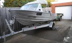 Savage Gannet, 4.5m, a nice clean setup, comes with;