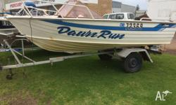Savage runabout around 4.5-4.8m long 40hp evinrude