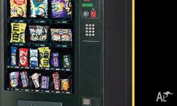 - Vending machine rental to businesses and sporting