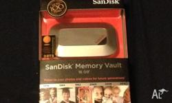 I am selling Scandisk Memory Vault 16gb for $30 Pick up