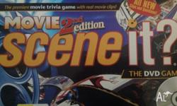 2nd edition Scene it movie DVD board game for sale.