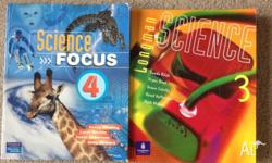 2 books for $10 Science books for secondary students