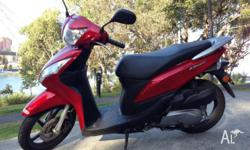 Hi there, I'm selling my scooter Honda DIO 110cc. It