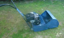 "SCOTT BONNAR 17"" REEL MOWER.. WAS REBUILT 2 YEARS AGO"