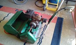 the mower just got fully serviced. price is