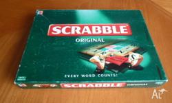 Scrabble - board game All pieces are there In great