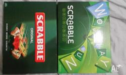 I have 2 x scrabble games for sale. $20 each. Both new,