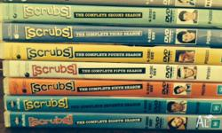 Scrubs Season 1 - 8 on DVD All discs are in good