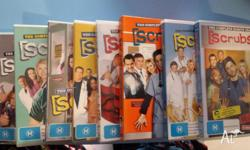 Hi All, I have up for grabs Scrubs season 1 - 8 DVD.