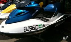 SEA-DOO GTX 155 MY08, 2008, Blue/White, JETSKI, 3.31m,