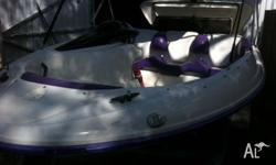 1995 Sea-doo Speedster. Twin rotax xp650. Boat and