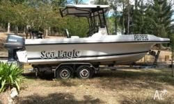 Sea Eagle Sportsfisher Centre Console. 200 HP Yamaha 2