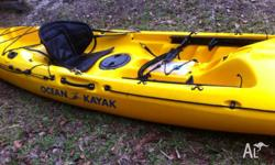 4.5m Ocean Prowler Elite Sea Kayak, only used a few