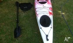 4.5 Metre Sea Kayak. Good condition. Very stable. Foot