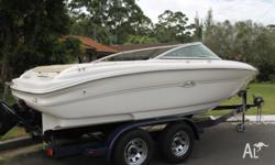 SEA RAY BOWRIDER 190 IN EXCELLENT CONDITION IT HAS BEEN