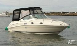 2007 Sea Ray 240 Sundancer. Only 180 hours use. Looks