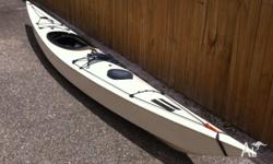 I am selling my sea touring kayak due to lack of use.