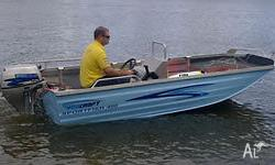 This new 4m fully optioned, bowrider, casting deck,