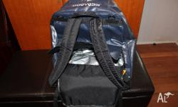 Navy blue eski bag to take on your jet ski. Please