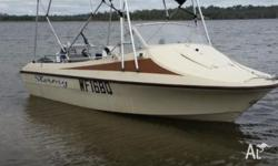 Boat registered till September Trailer Registered till
