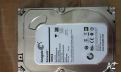 "Seagate SATA3 1TB HDD 3.5"" 7200RPM (Internal) Opened"