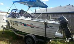 FOR SALE - 2005 Seajay 4.15m Runabout Classic with ~40
