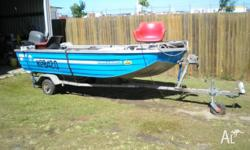 Boat & Motor for sale. Seajay, Barramaster with 30hp