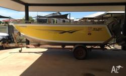 Seajay Haven Platinum Series 5.0M boat. 2010 model,