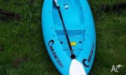 Barely used Seak Kayak. Bought in Feb and used 3 times.
