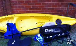Hi there, I'm selling my kayak and all the bits with