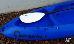 1x Blue Seak Swift Kayak (Guy Leech Pro Series). Very