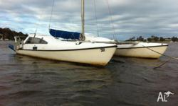 seawind 24 in gc. sails exstremely well. Has mariner