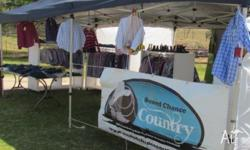 Travelling Country Clothing Business for Sale. New &