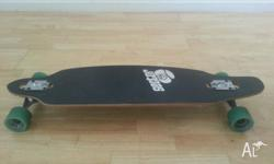 Sector 9 board, barely used. Prefer to ride another