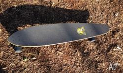 Great long board hardly used, still has price tag on
