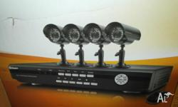 Swann brand (new in box) 4 channel DVR-2500 with 4