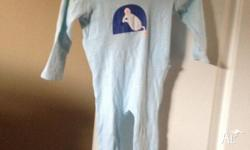 This seed light blue mouse jumpsuit is for 3-6 month