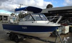 Seeker 6.1m Centre console/Runabout Boat � Evinrude