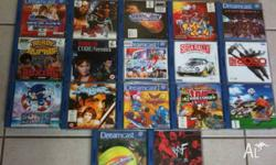 Sega Dreamcast Games RARE Calls & Emails only, NO