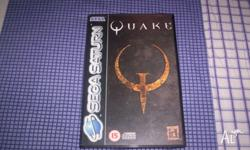 Sega Saturn Game Quake Complete with Instructions in