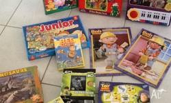 Priced to sell, selection of boys puzzles, a Wiggles